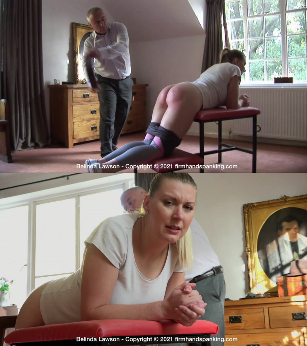 2021 05 21 121824 - Firm Hand Spanking – MP4/HD – Belinda Lawson - Leather Princess - M (Release date: May 07, 2021)