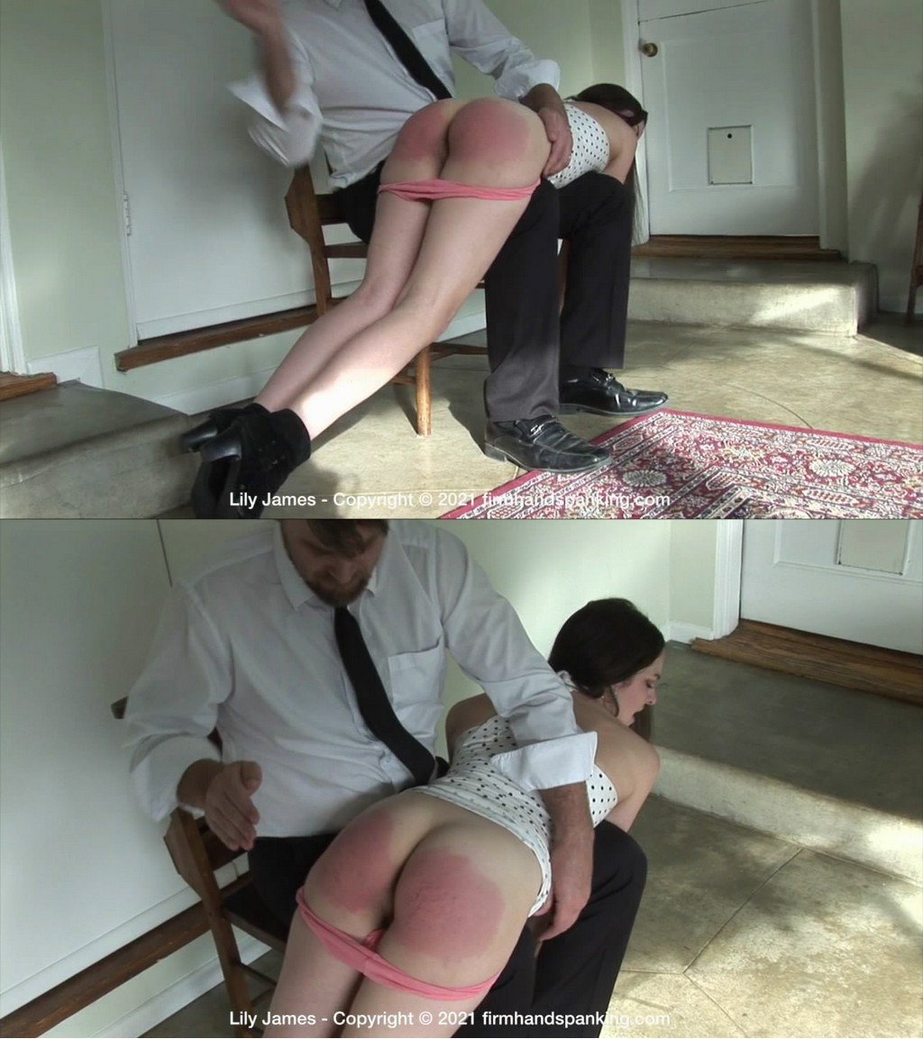 Firm Hand Spanking – MP4/HD – Lily James – Discipline Counselor – M (Release date: May 10, 2021)