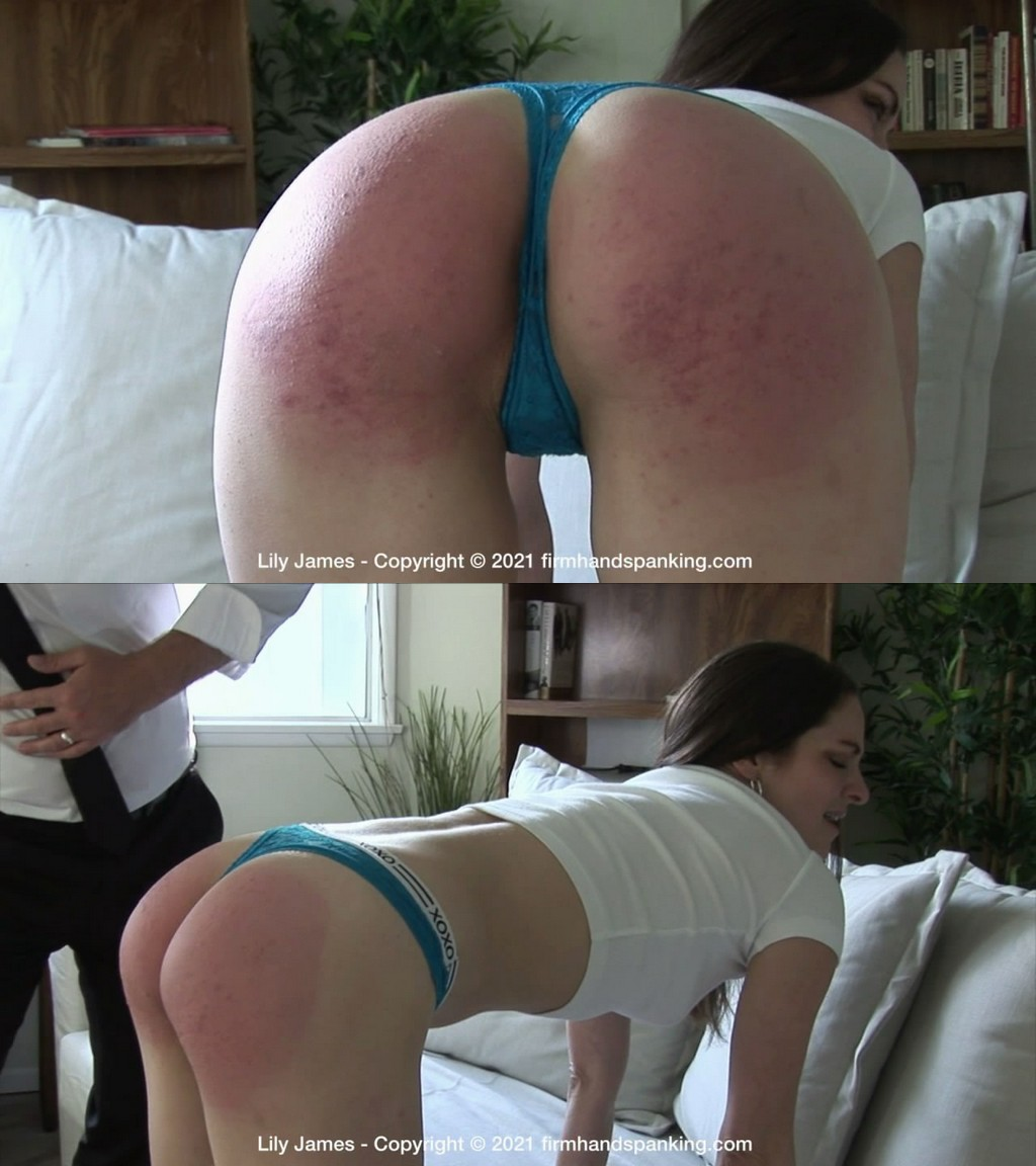 Firm Hand Spanking – MP4/HD – Lily James – Discipline Counselor – P/This brat is asking for trouble, challenging her counselor to give it his best shot! (Release date: May 24, 2021)