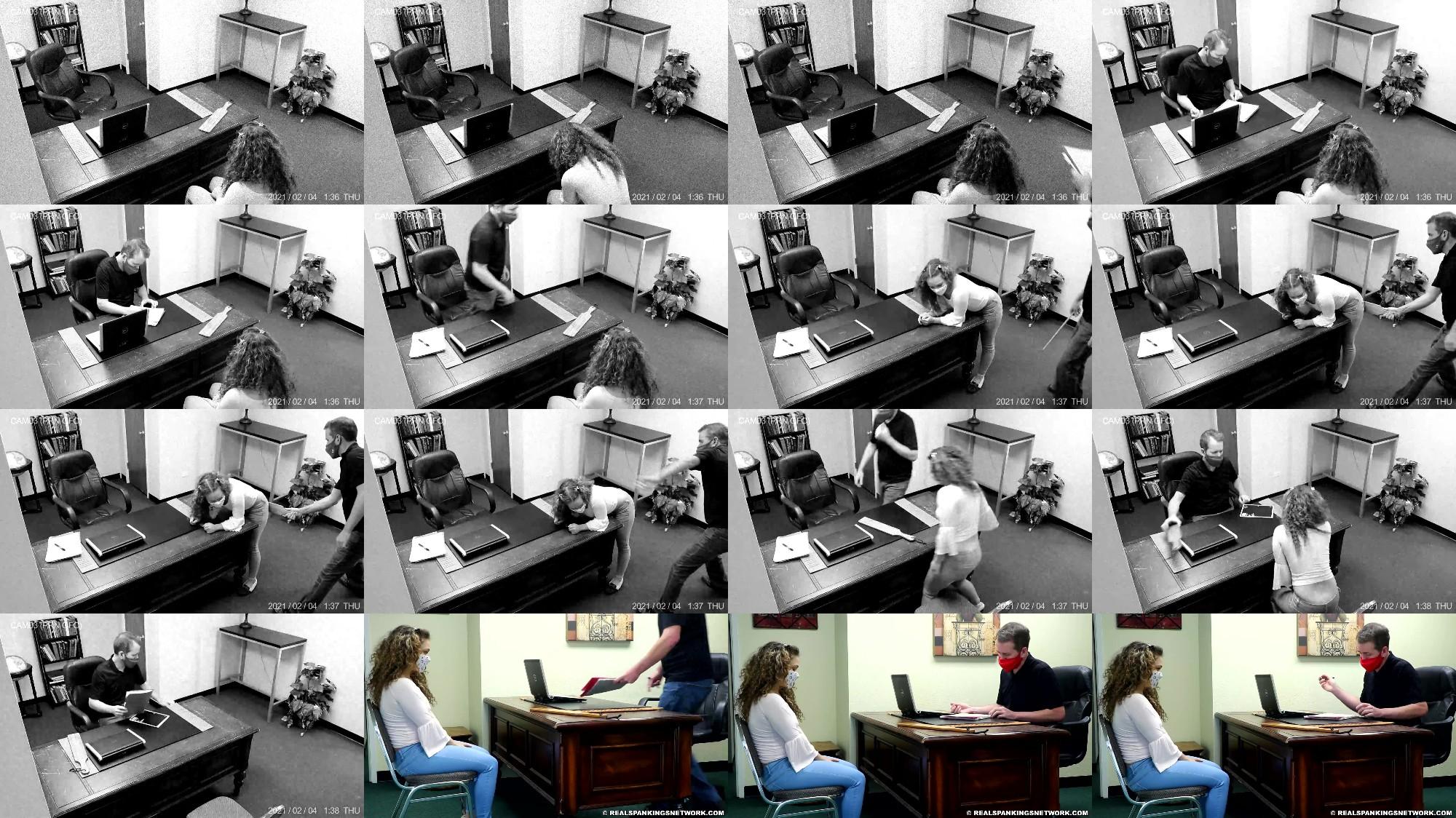 Kiki Cali   Spanked At School Spanked At Home part 1 Of 2 - Real Spankings – MP4/Full HD – Kiki Cali - Spanked At School, Spanked At Home (part 1 Of 2)