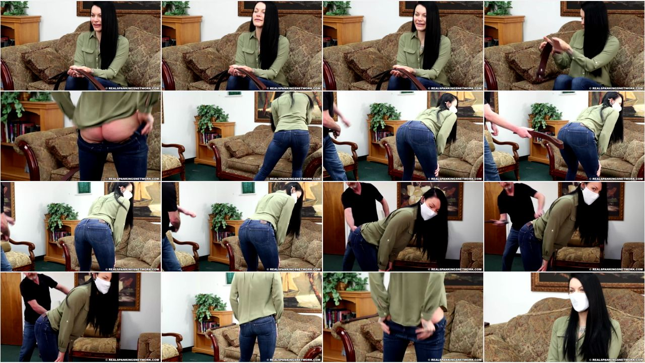16610 1 1500 screen - Real Spankings - MP4/Full HD – Devin Jade - Devin Jade's Belt Test