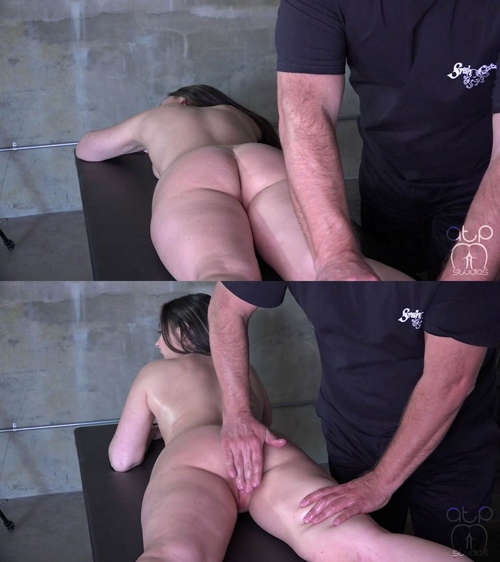 Assume The Position Studios – MP4/HD – The Master, Dani Sorrento – Brittany's Naughty Massage – Nude Oiled Cunt Spanking (Release date: Jun 01, 2021) – EROTIC SPANKING