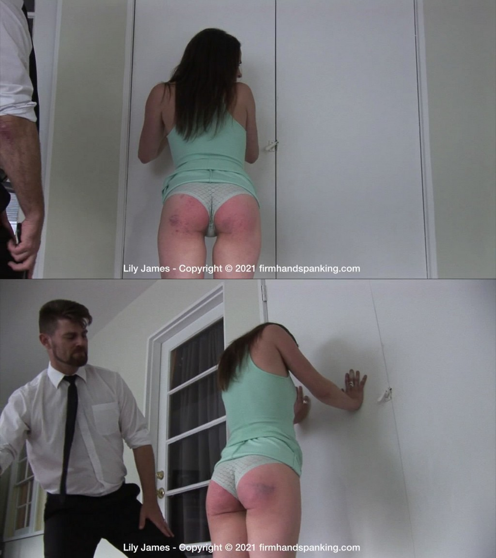 Firm Hand Spanking – MP4/HD –Lily James – Discipline Counselor – Q/Wealthy parents and a bratty attitude means a sore bottom is due for Lily James! (Release date: May 31, 2021)