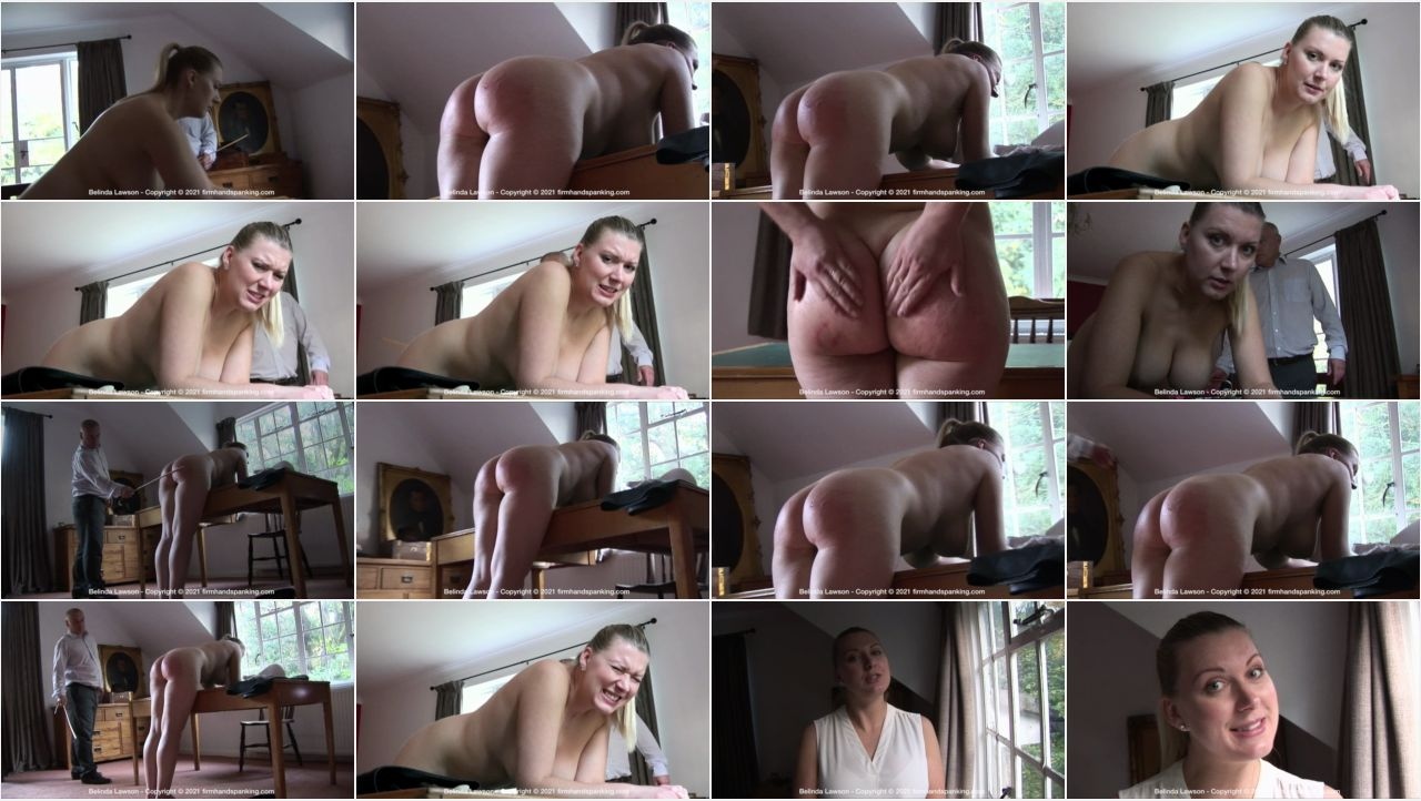 04.06.2021   leather r screen - Firm Hand Spanking - MP4/HD – Belinda Lawson - Leather Princess/Finale caning for Belinda Lawson - impressively, beautifully, totally nude!