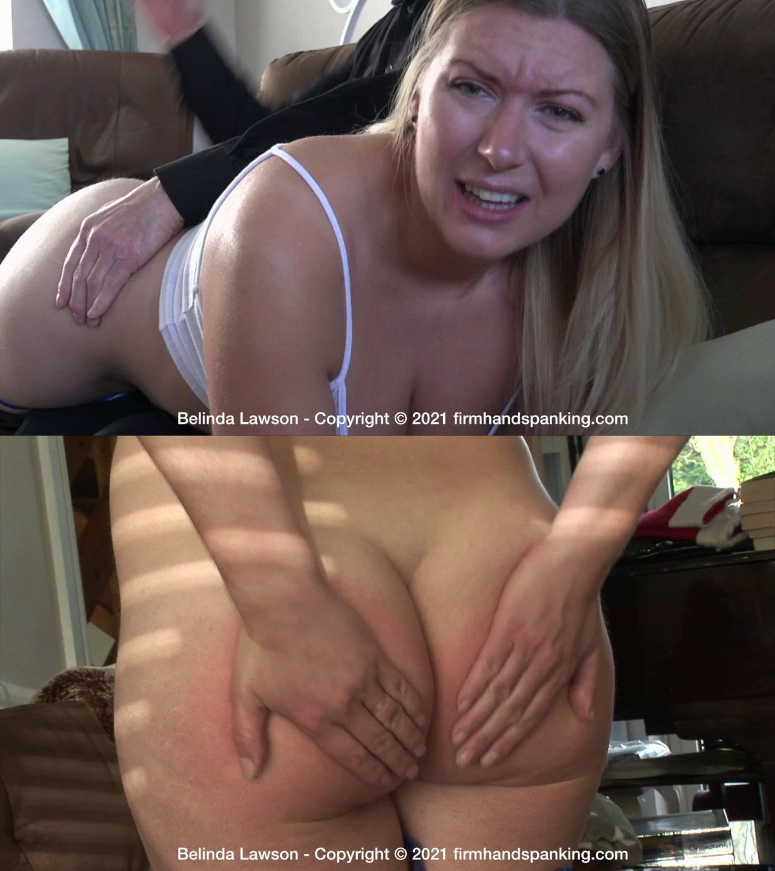 Firm Hand Spanking – MP4/HD – Belinda Lawson – Discipline Matters/Belinda's fast, intense bare bottom spanking is her new training regime! (Release date: Jul 07, 2021)