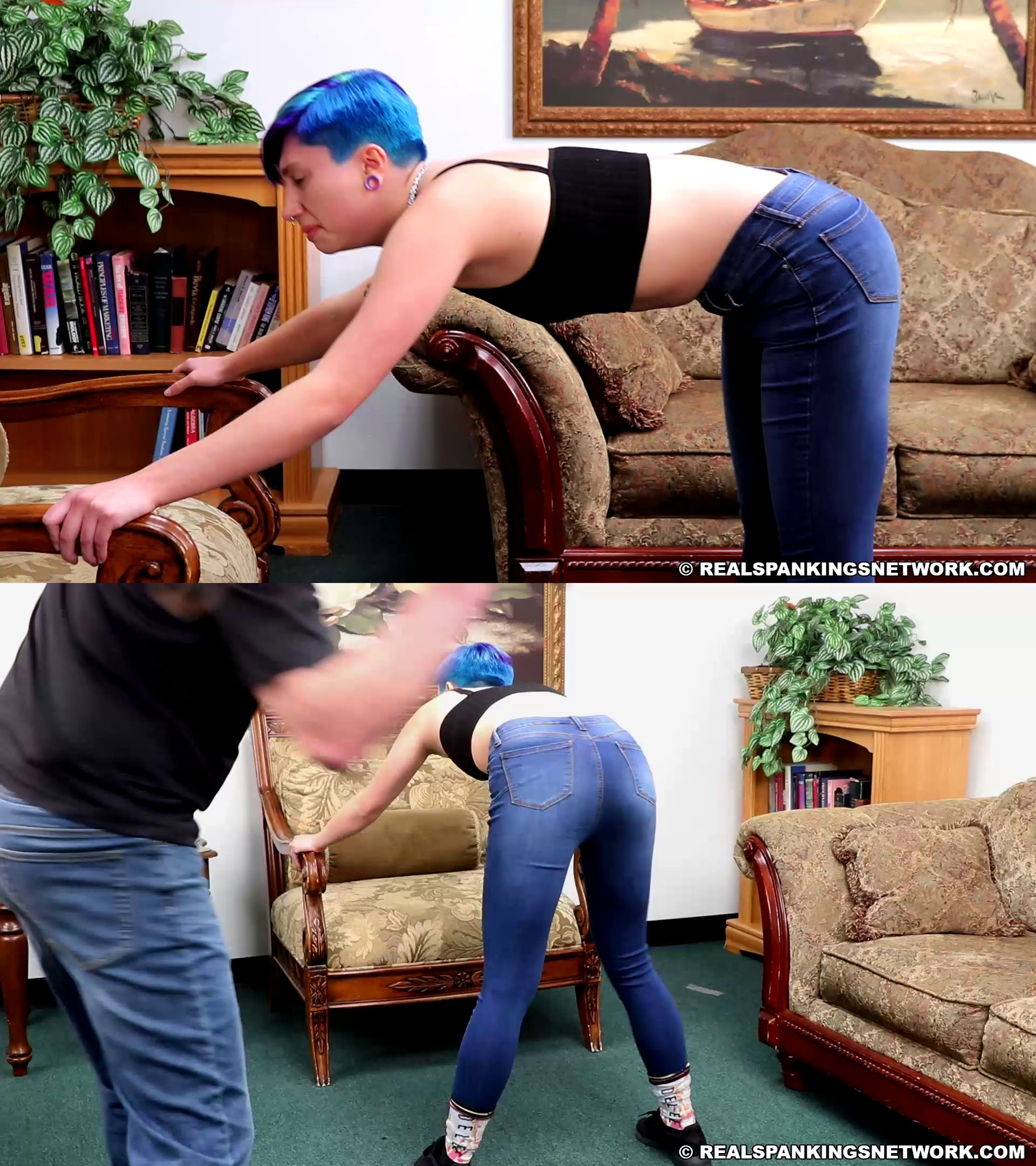 RealSpankings – MP4/HD – Kaitlynn – Belting Before Bed (part 1 Of 2)
