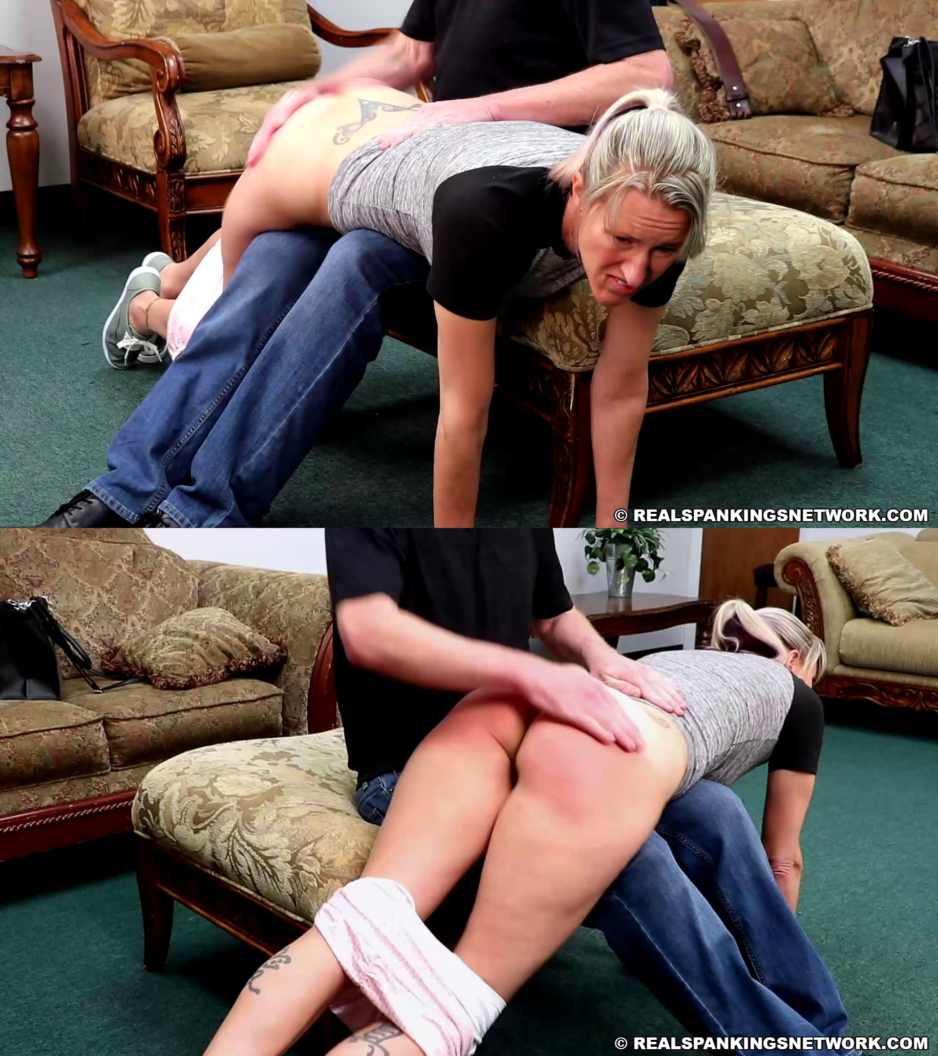 realspankings – MP4/HD – Gena – Gena's Foul Mouth Earns Her A Whoopin' (part 1 Of 2)