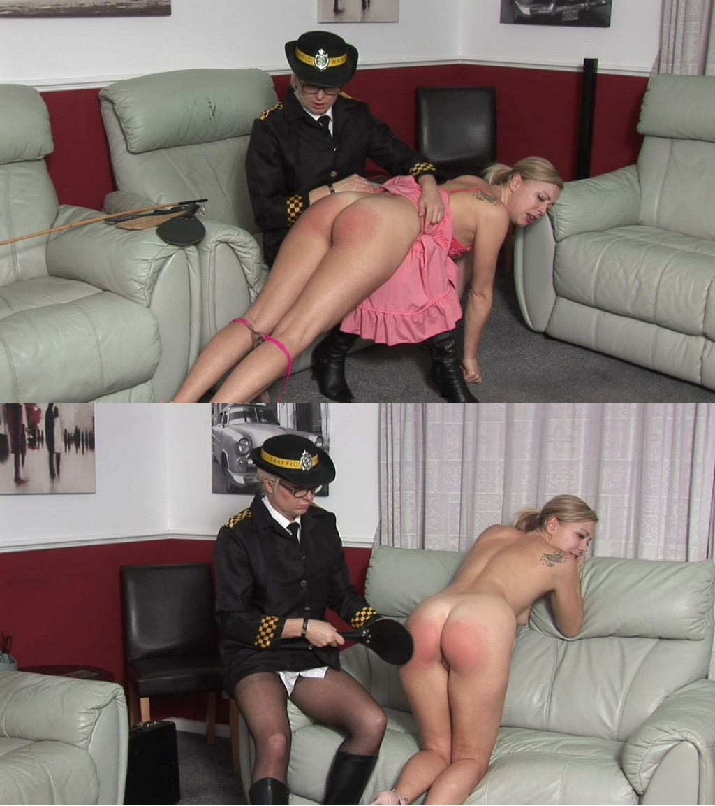 Spanked Cheeks – MP4/HD – Lucy Lauren, Miss Lina – Parking Violations