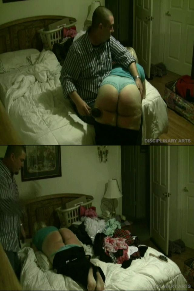 disciplinaryarts – MP4/HD – Lily Starr, Henry – Real Discipline: Clean Your Room! Lily Spanked To Tears With The Hairbrush And Belt