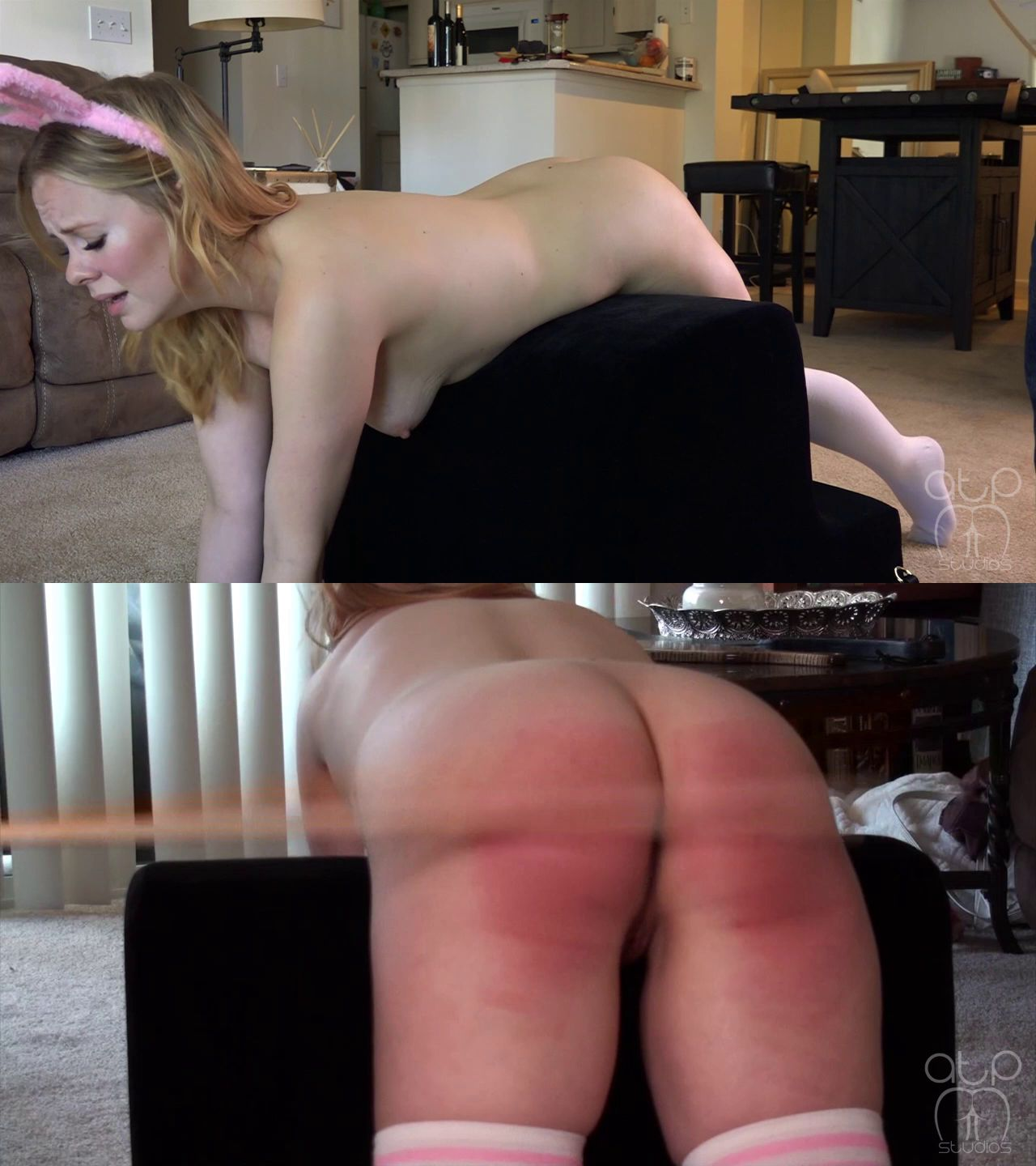 Assume The Position Studios – MP4/HD – Stevie Rose, The Master – Slut Bunny Strapped Paddled And Caned Nude (Release date: Jul. 15, 2021)