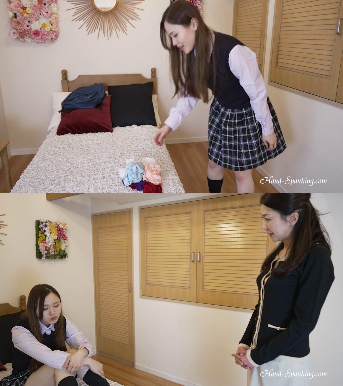 hand-spanking – MP4/HD – Shihori, Miki – Six Pair Panty Spanking