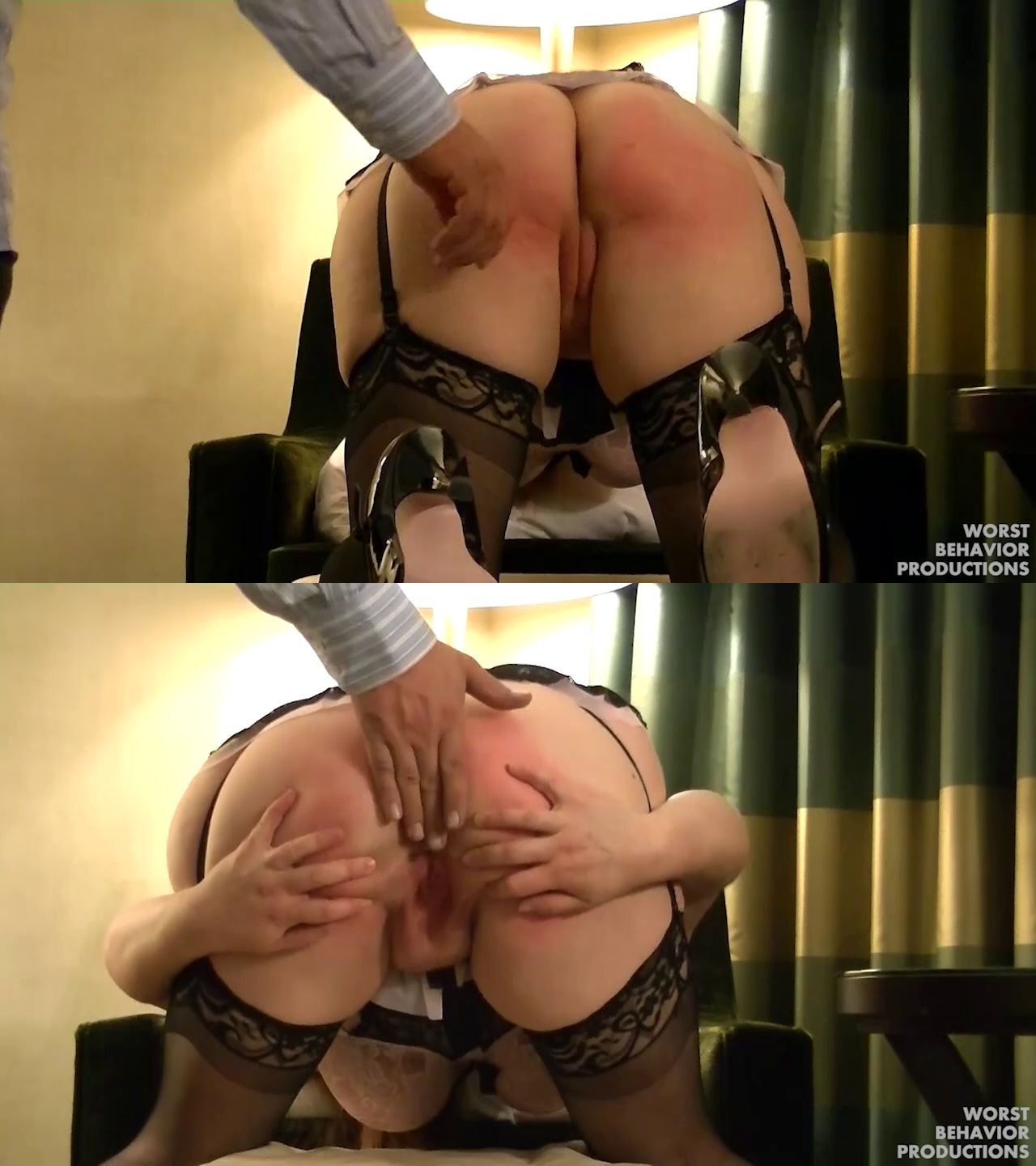 Worst Behavior Productions – MP4/HD – Red, Mr. Smith – Red Is Spanked Paddled And Penalty Swats