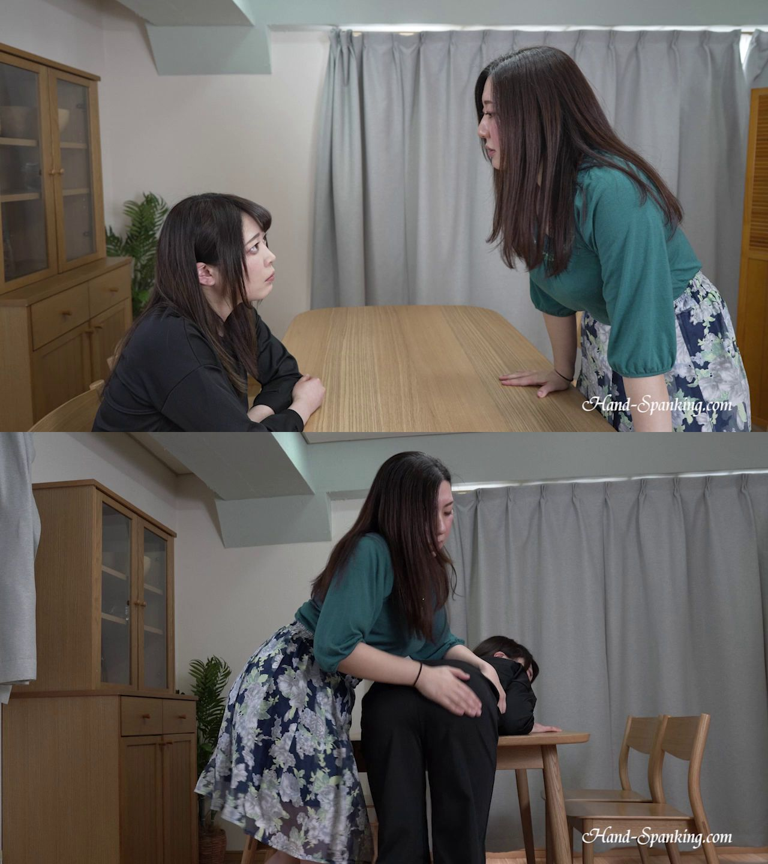 hand-spanking – MP4/HD – Yuko, Yui – Saving For Money Trip