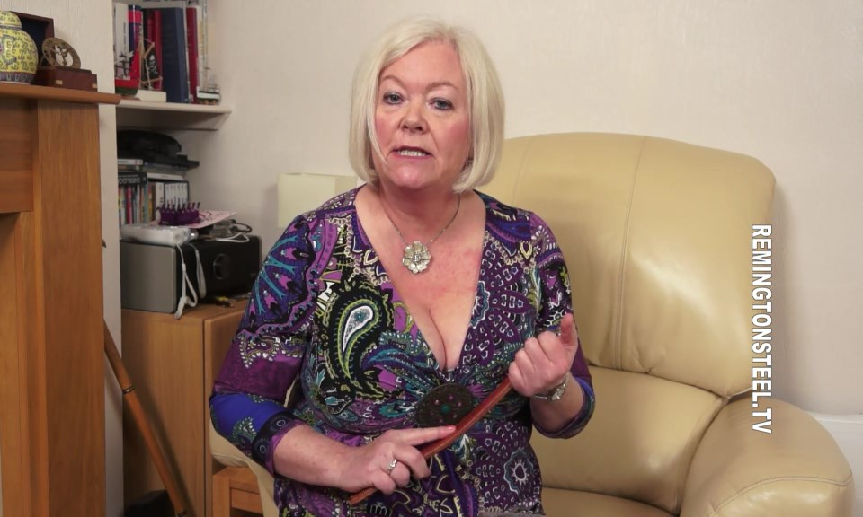 Sarah Spanks Men – MP4/SD – Aunty Katie – The One To One