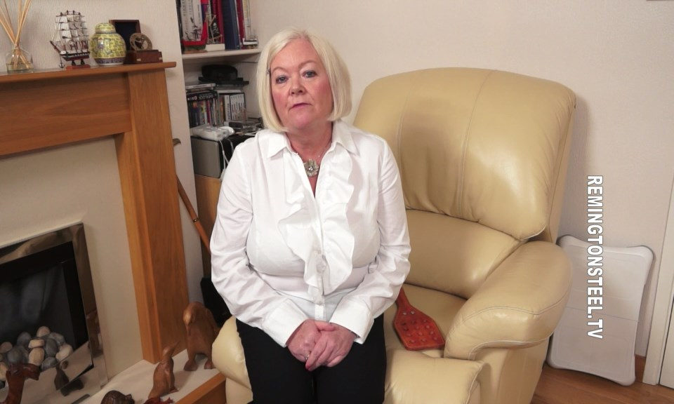 Sarah Spanks Men – MP4/HD – Aunty Katie – You Will Be Punished At Work