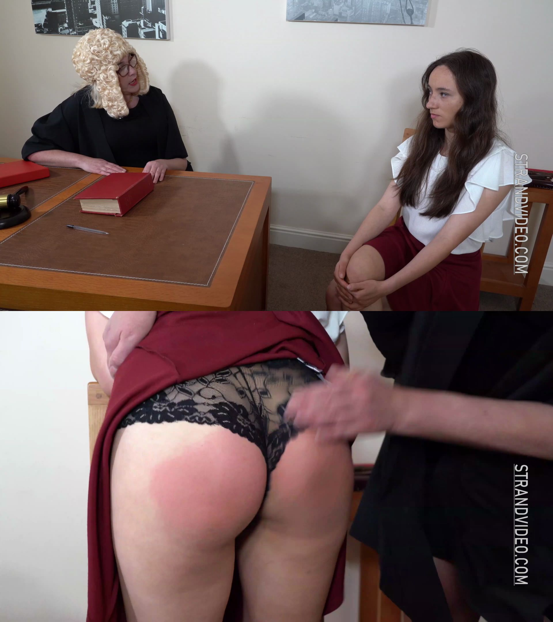Spanking Sarah – MP4/Ultra HD – Sarah Stern, Mila Grant – The Judge At Home