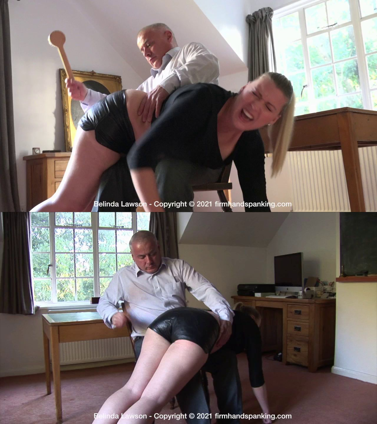Firm Hand Spanking – MP4/HD – Belinda Lawson – Leather Princess (Release date: May 14, 2021)