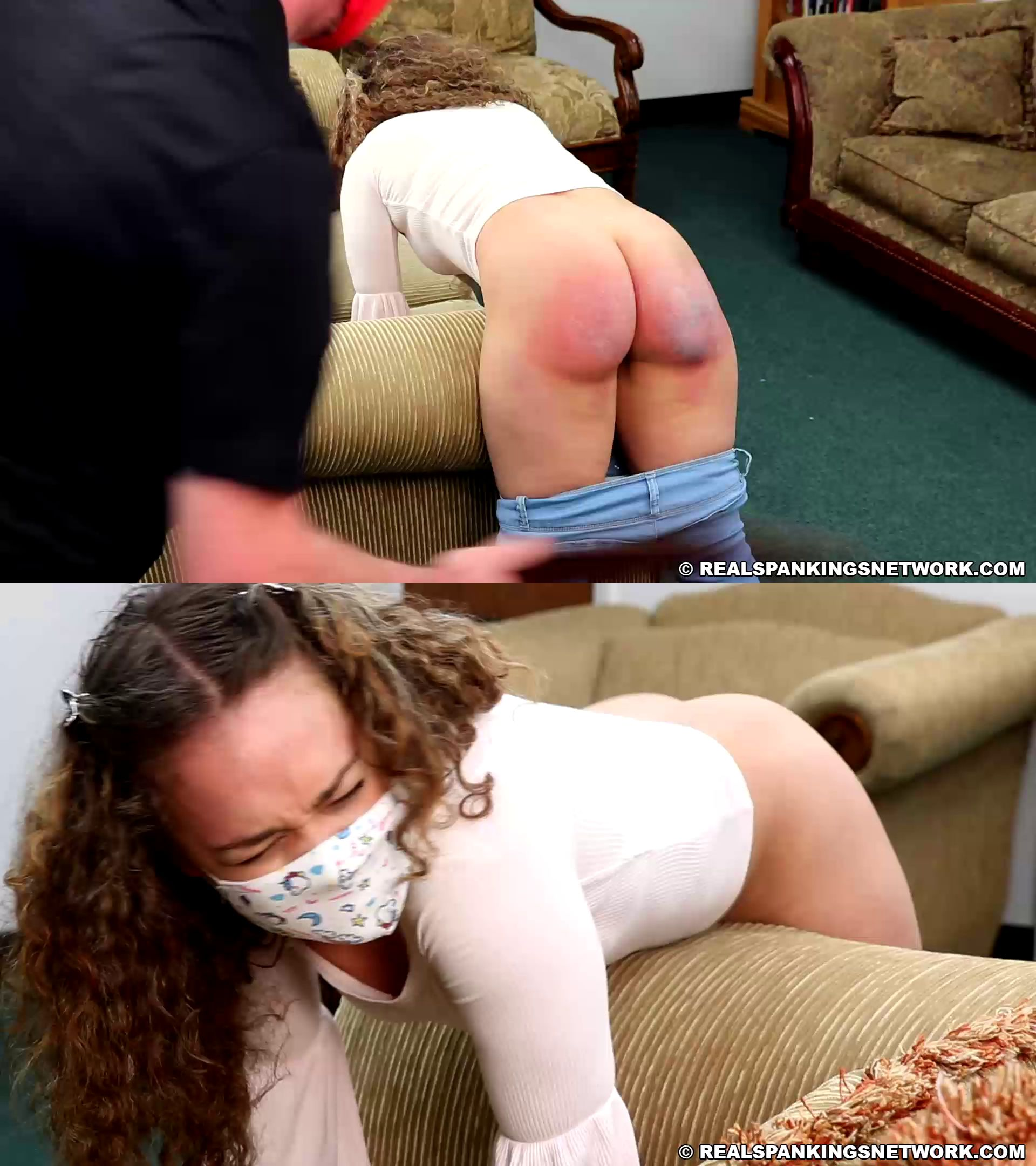 Real Spankings/Real Spankings Network – MP4/Full HD – Kiki Cali – Spanked At School, Spanked At Home (part 2 Of 2)