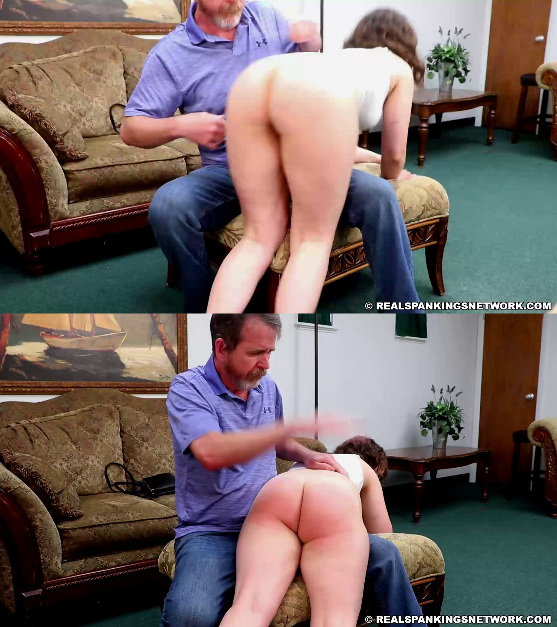 Real Spankings – MP4/Full HD – Ella – Ella Gets A Double Whoopin' (part 1 Of 2)