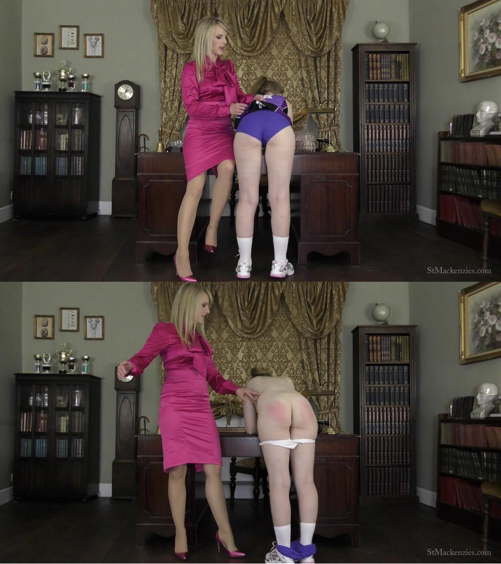 St Mackenzie's/68475 – st-mackenzie's – Bunnie Stevens, Headmistress Mackenzie – MP4/Full HD – Headmistress Mackenzie Discovers Nerdy Student Bunnie Has A Spanking Fetish