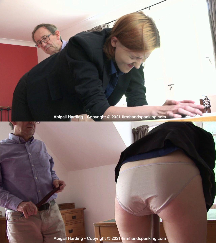 Firm Hand Spanking – MP4/HD – Abigail Harding – The Estate