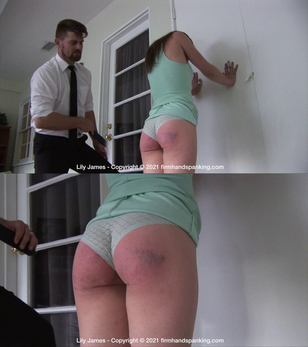 firmhandspanking – MP4/HD – Lily James – Discipline Counselor/Wealthy parents and a bratty attitude means a sore bottom is due for Lily James!