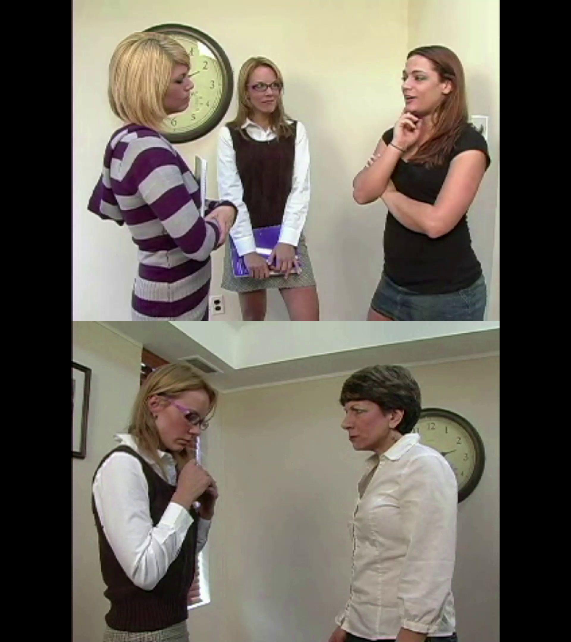 Punished Brats – MP4/Full HD – Amber Pixie Wells, Veronica Bound, Ten Amorette, Carisssa Montgomery, Cassandra, Miss Susan – Pixie Triple Feture