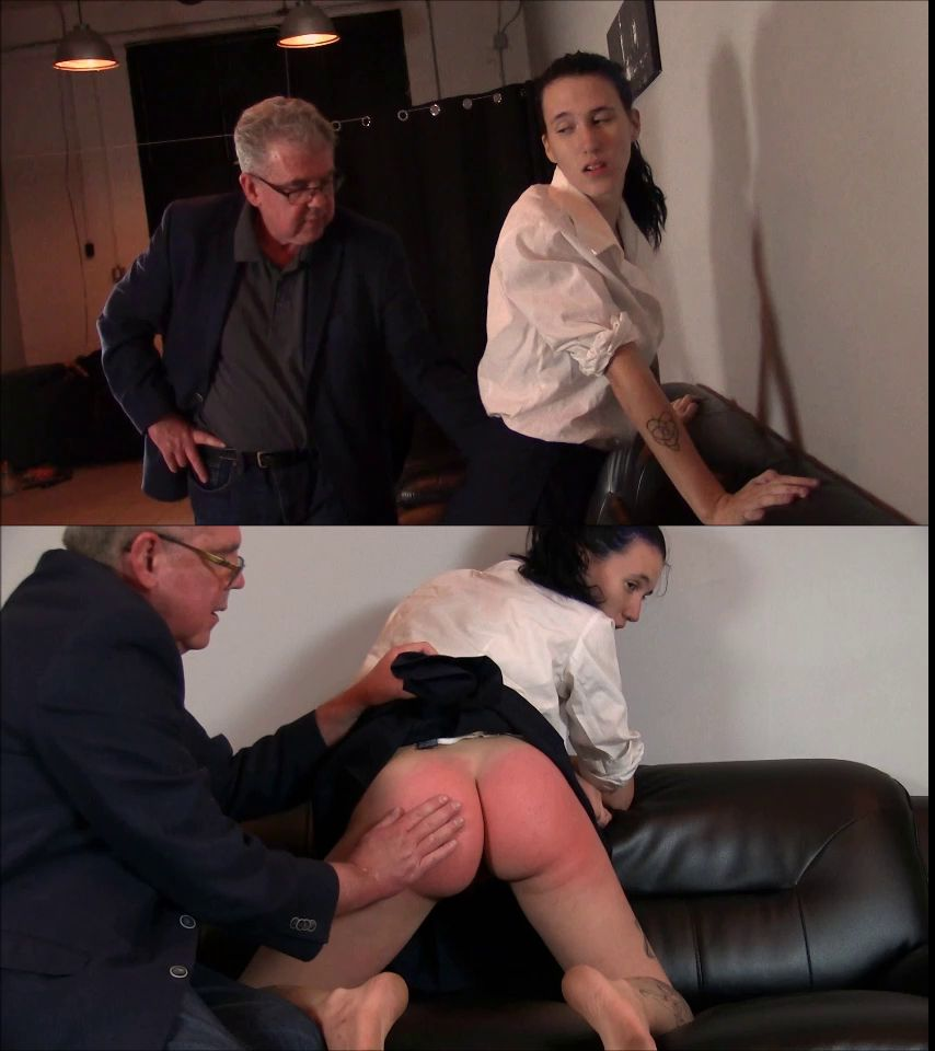 Punished Brats – MP4/SD – Serenity Rayne, David Pierson – Smoking In The Schoolyard