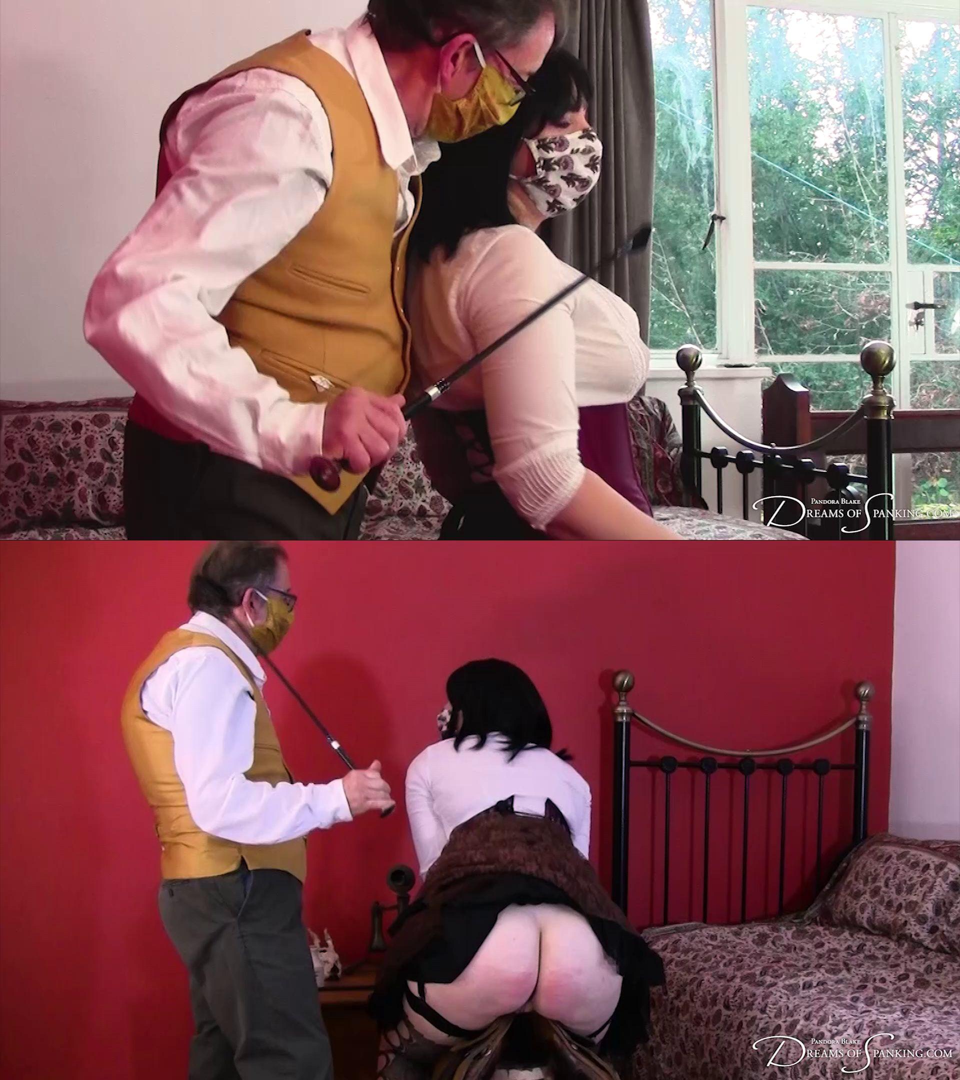 Dreams of Spanking – MP4/Full HD – Pandora Blake – Victorian Strumpet