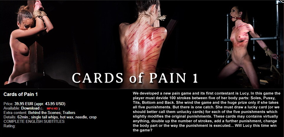 Elite Pain – MP4/HD – Cards of Pain 1