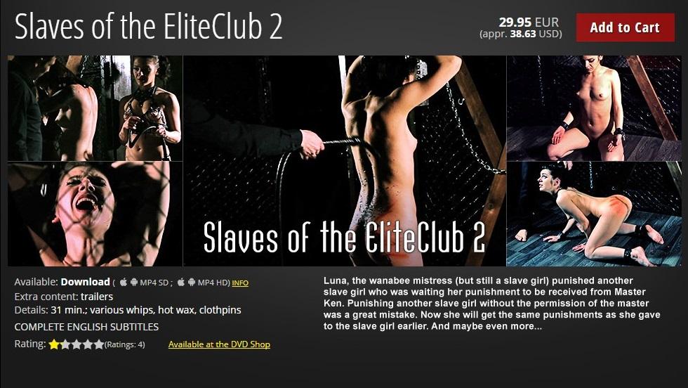 Elite Pain – MP4/HD – Slaves of the EliteClub 2