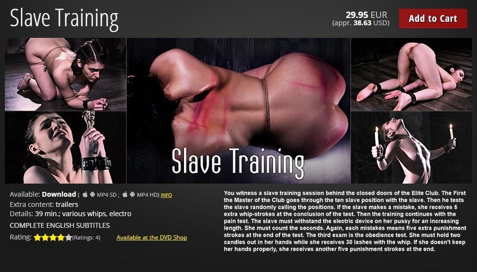Elite Pain – MP4/HD – Slave Training
