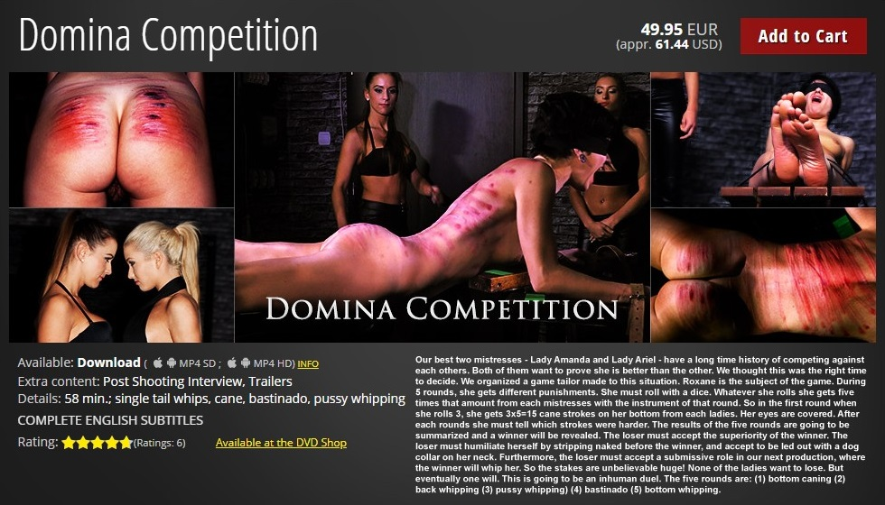 Elite Pain – MP4/HD – Domina Competition