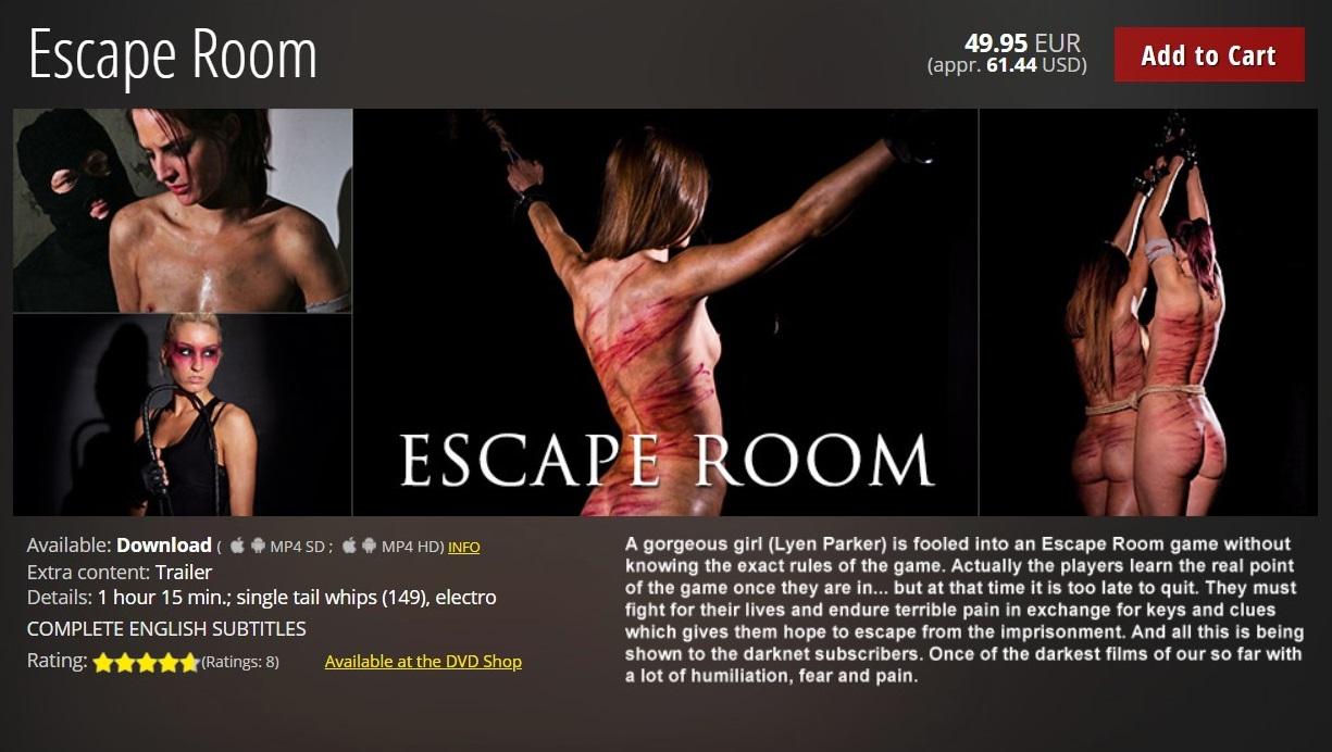 Elite Pain – MP4/HD – Escape Room