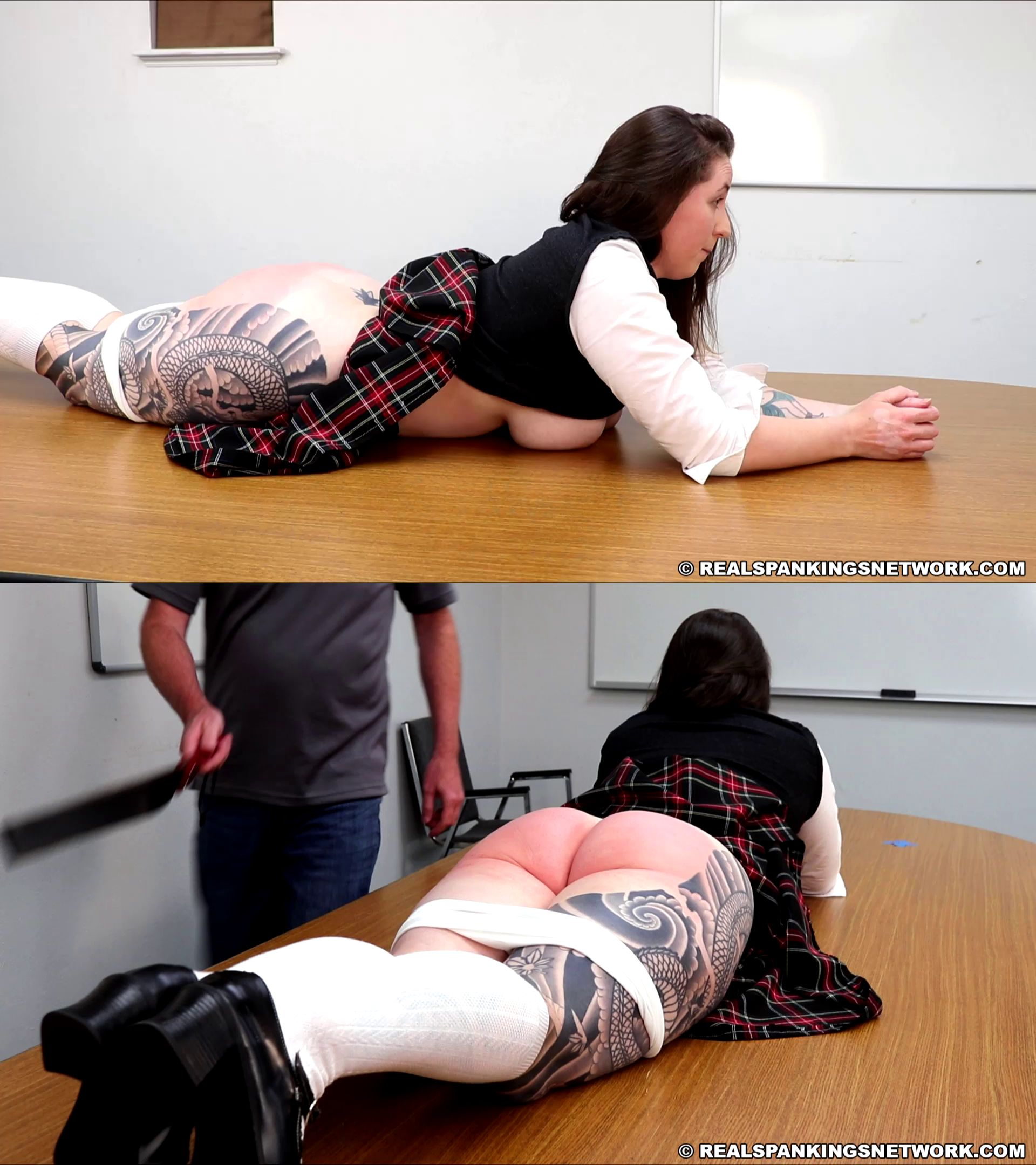 Real SpankingsInstitute/Real Spankings Network – MP4/Full HD – Dylan Rollins – Dylan Caught Without A Bra