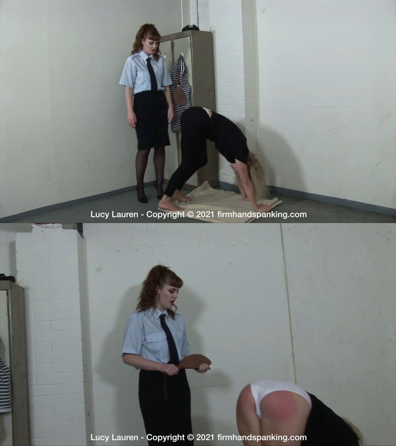 Firm Hand Spanking – MP4/HD – Lucy Lauren – Correctional Institute (Release date: Sep 24, 2021)