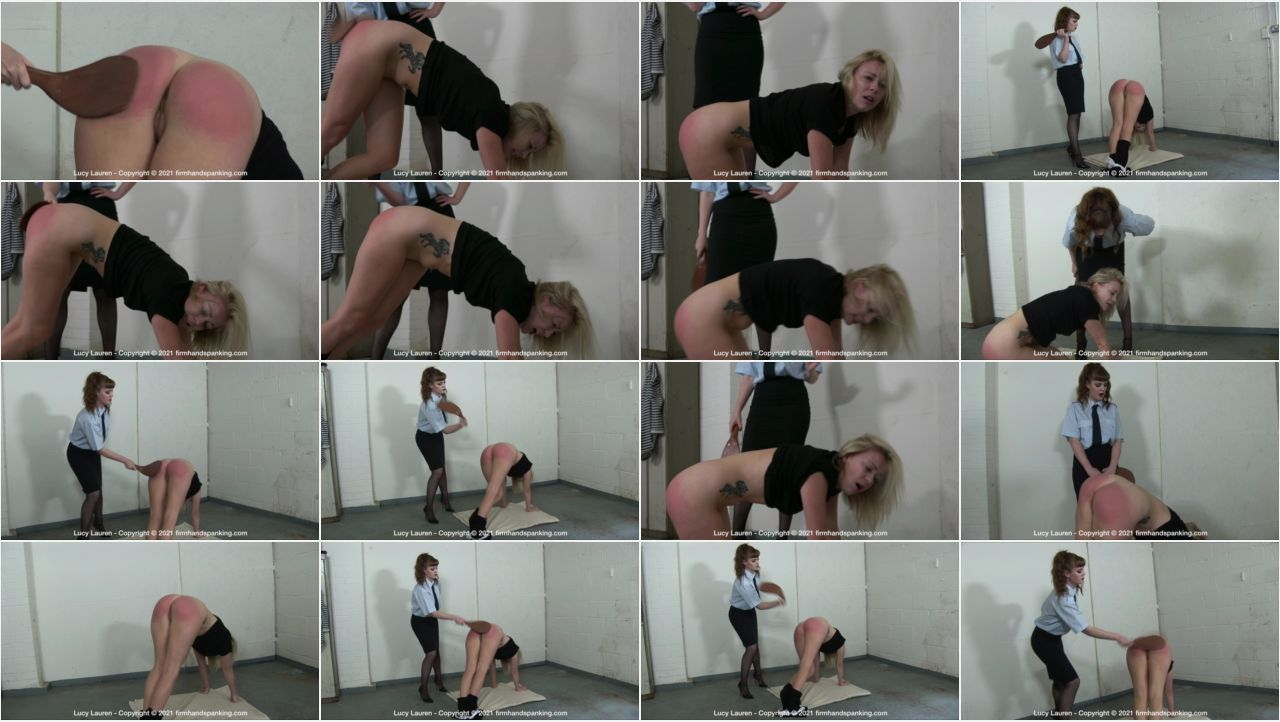 24.09.2021   correctional bh screen - Firm Hand Spanking - MP4/HD – Lucy Lauren - Correctional Institute/Panties pulled down, smart-mouthed Lucy Lauren is paddled bare bottom (Release date: Sep 24, 2021)