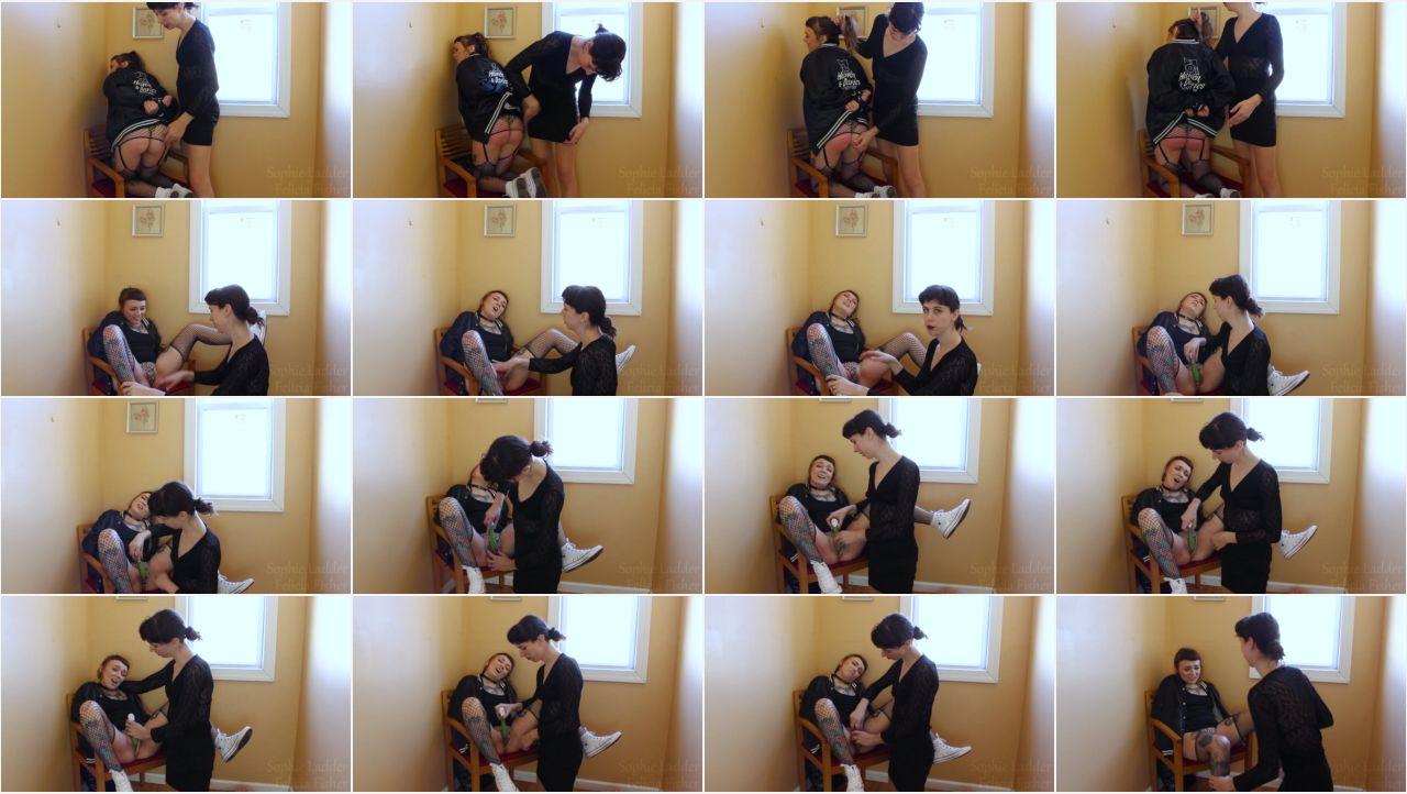 SL   Spanko W Felicia Fisher screen - Sophie Ladder - MP4/Full HD – Sophie Ladder, Felicia Fisher - Schoolgirl Spanko W/ Felicia Fisher
