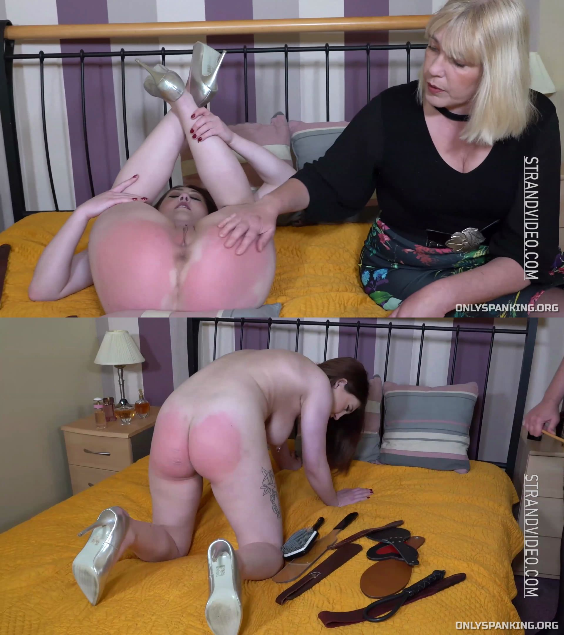 english-spankers – MP4/HD – Louise Weston, Sarah Stern – I Punish Myself Just For You Part 2