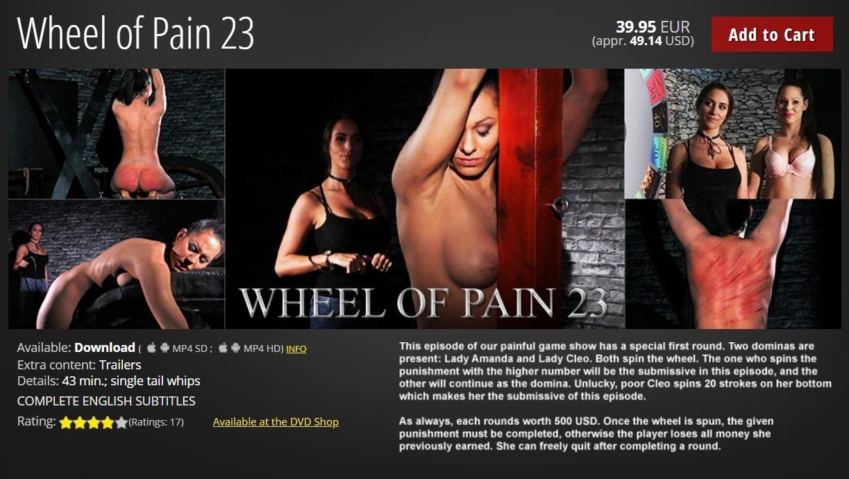 Elite Pain – MP4/HD – Wheel of Pain 23