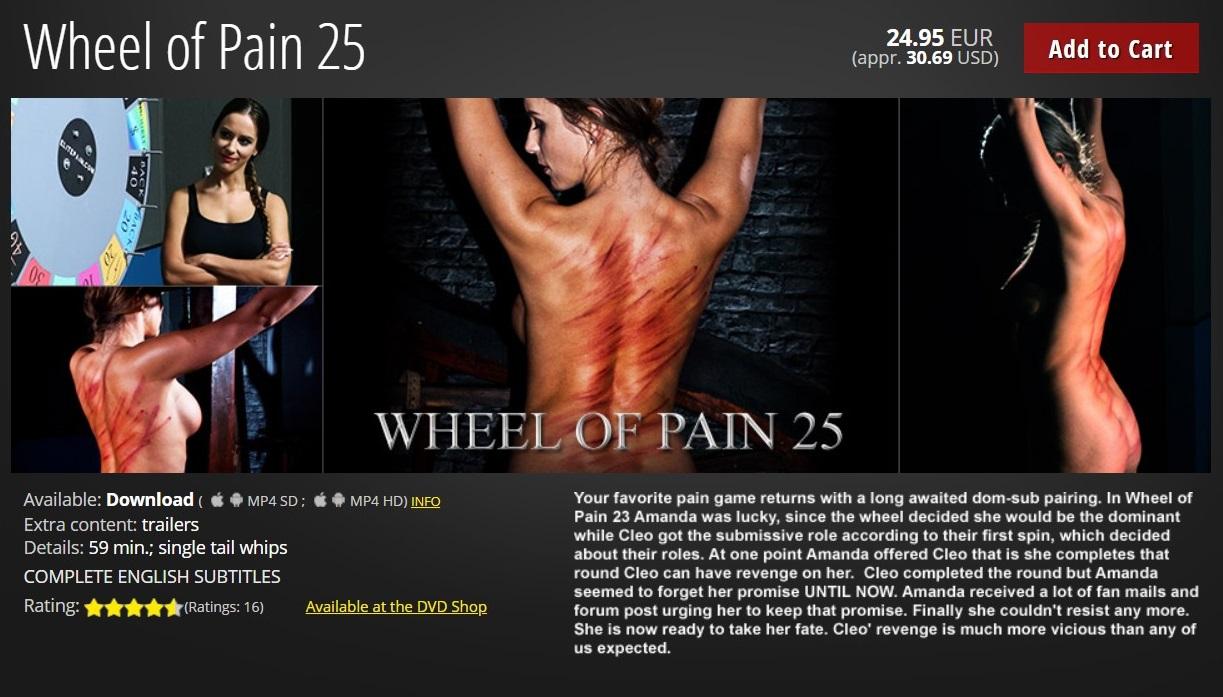 Elite Pain – MP4/HD – Wheel of Pain 25