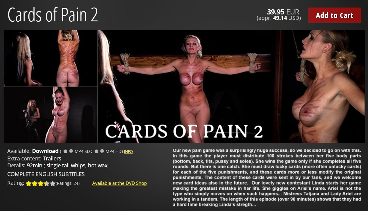 Elite Pain – MP4/HD – Cards of Pain 2